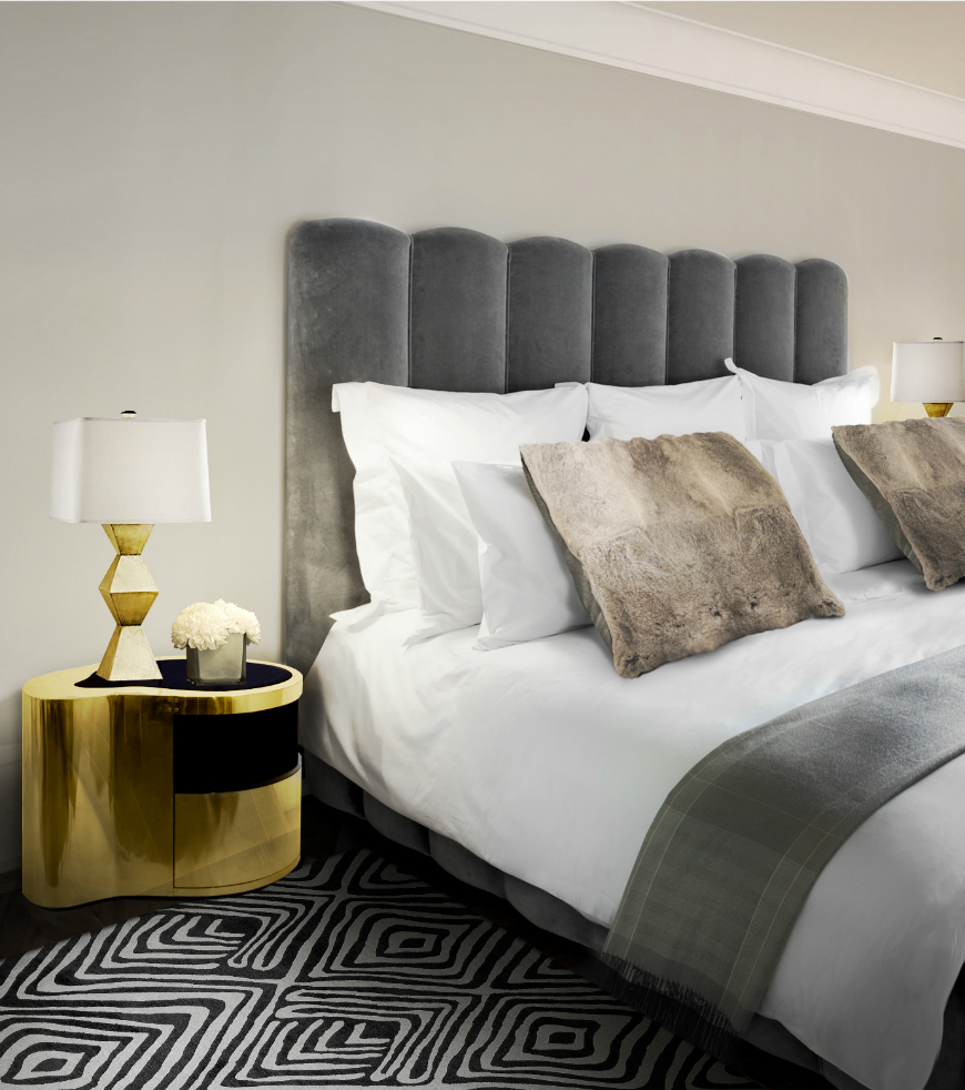 10 Exclusive Bedside Tables for your Master Bedroom Decor - Wave Nightstand by Boca do Lobo