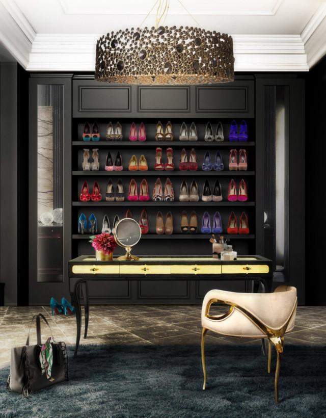 koket walk-in bedroom walk in closet ideas 10 Walk in Closet Ideas For Your Master Bedroom luxury closet 1