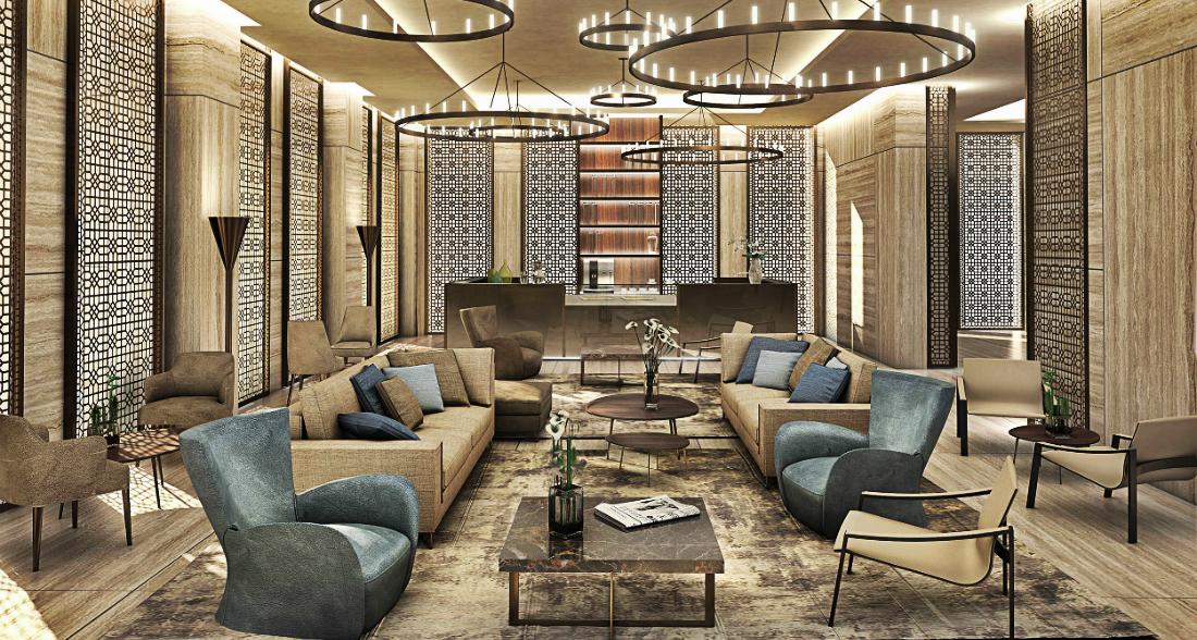 Matteo Nunziati Great Project Inspirations by Matteo Nunziati Fraser Suite Top Interior Design Doha 2