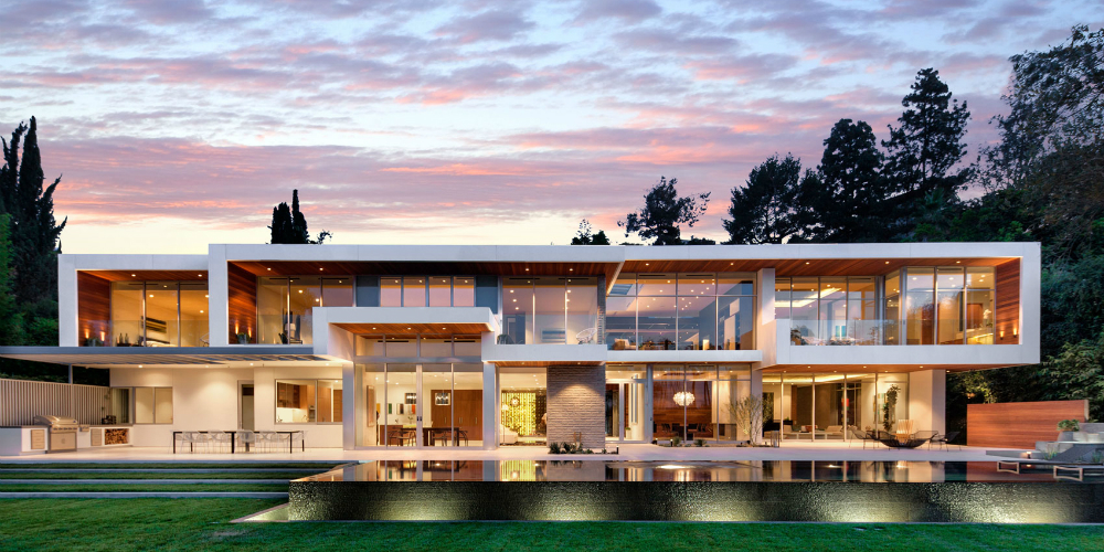 architectural designs Discover the Top Architectural Designs For 2017 Stunning Estate on Sunset Strip 21