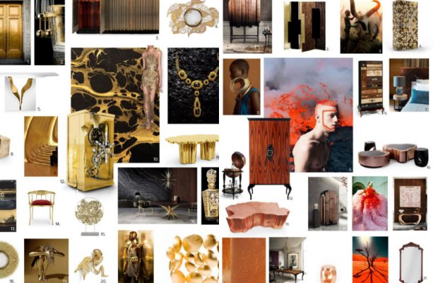 spring trends Interior Design Spring Trends For 2017 collage 620x400