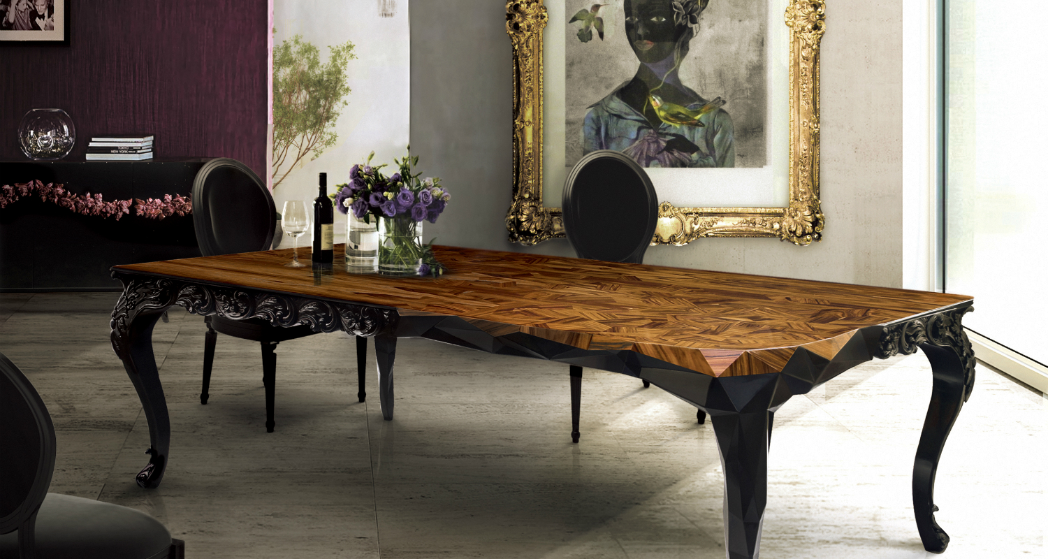 dining room 5 Things The Most Creative Dining Rooms Have In Common royal by boca do lobo