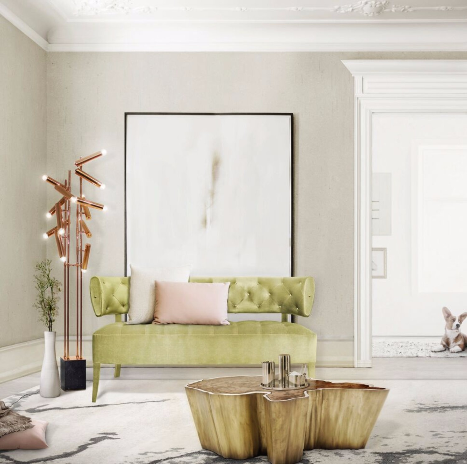 vintage coffee tables Get Inspired with Vintage Coffee Tables sequoia