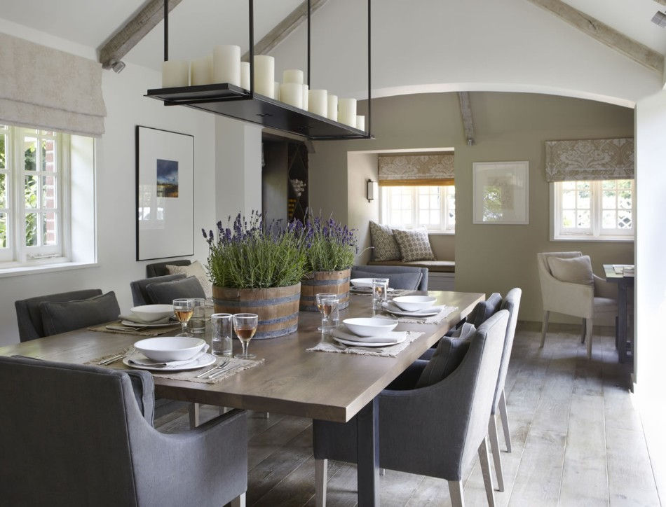 Country House, Sussex helen green Top 100 Coveted Magazine: Brilliant Dining Rooms by Helen Green Country House Sussex