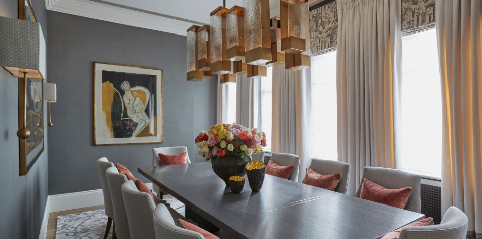 Family House, Chelsea helen green Top 100 Coveted Magazine: Brilliant Dining Rooms by Helen Green Family House Chelsea