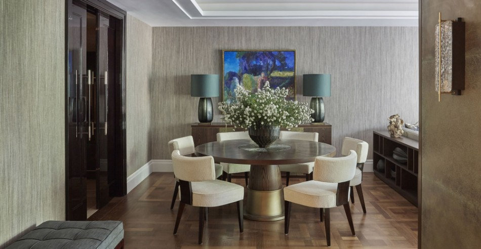 Lateral Apartment, Belgravia helen green Top 100 Coveted Magazine: Brilliant Dining Rooms by Helen Green Lateral Apartment Belgravia