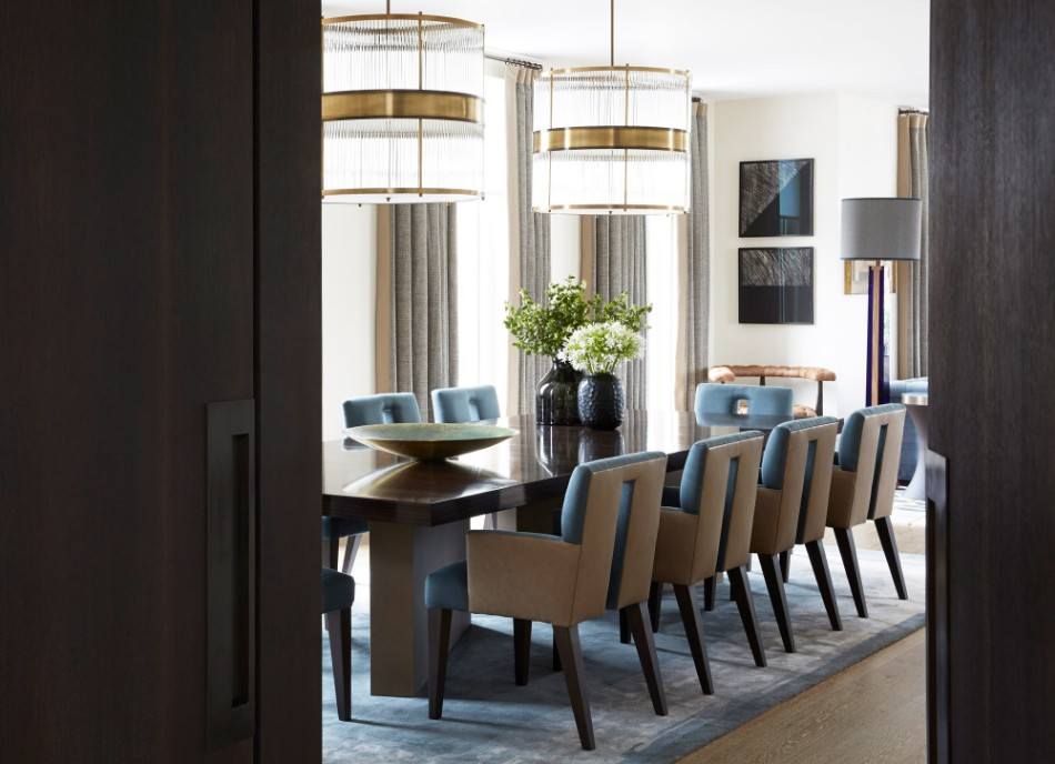 Penthouse North, Knightsbridge helen green Top 100 Coveted Magazine: Brilliant Dining Rooms by Helen Green Penthouse North Knightsbridge