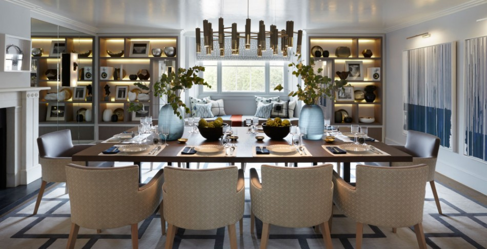 helen green helen green Top 100 Coveted Magazine: Brilliant Dining Rooms by Helen Green Townhouse Belgravia