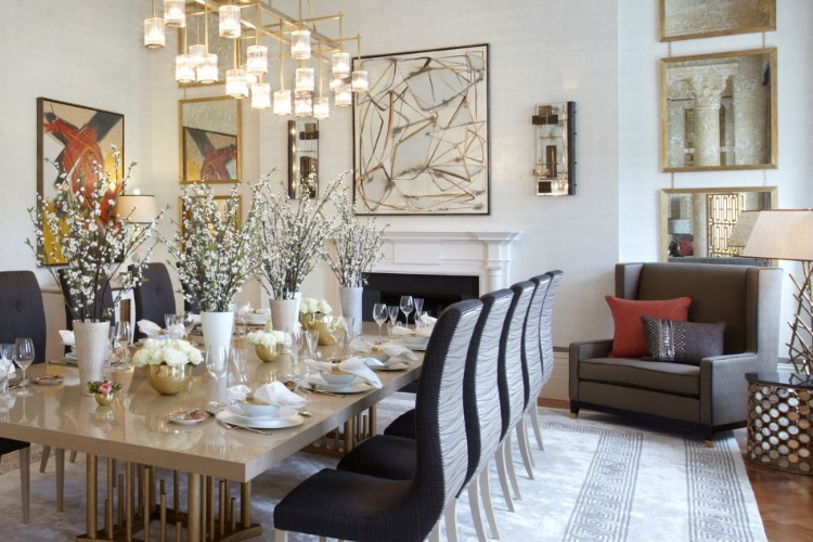 helen green Top 100 Coveted Magazine: Brilliant Dining Rooms by Helen Green duplex apartment hyde park1
