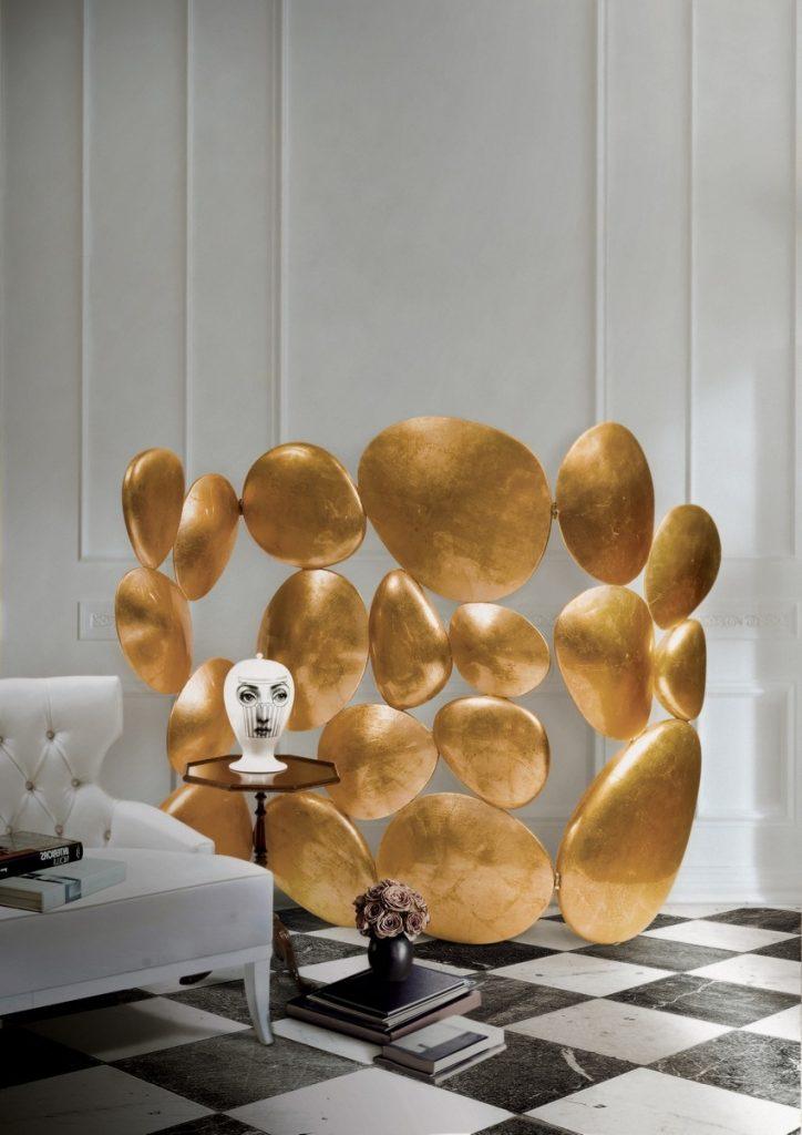 Goldene Möbel: die sommer Luxusfarbe 2017 goldene möbel Goldene Möbel: die sommer Luxusfarbe 2017 gold