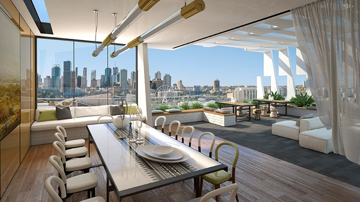 rooftop dining room Rooftop Dining Room Ideas For This Summer Opera Private Rooftop Dining Room