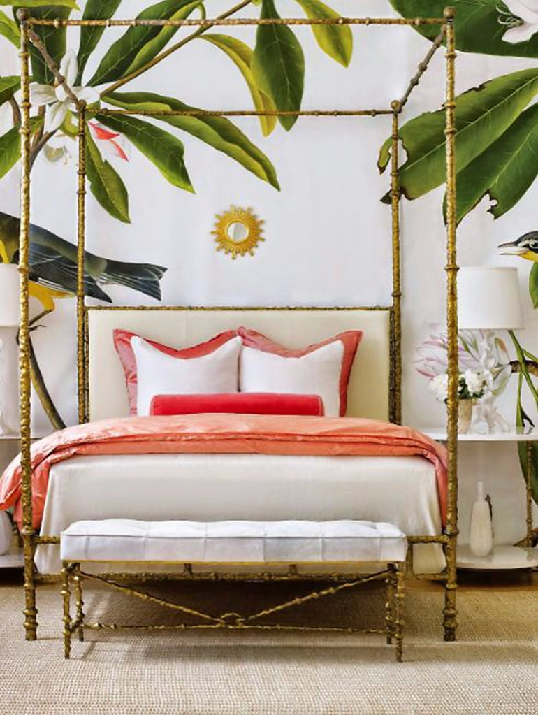 Summer Trends 12: Bedroom Inspiration With Tropical Design