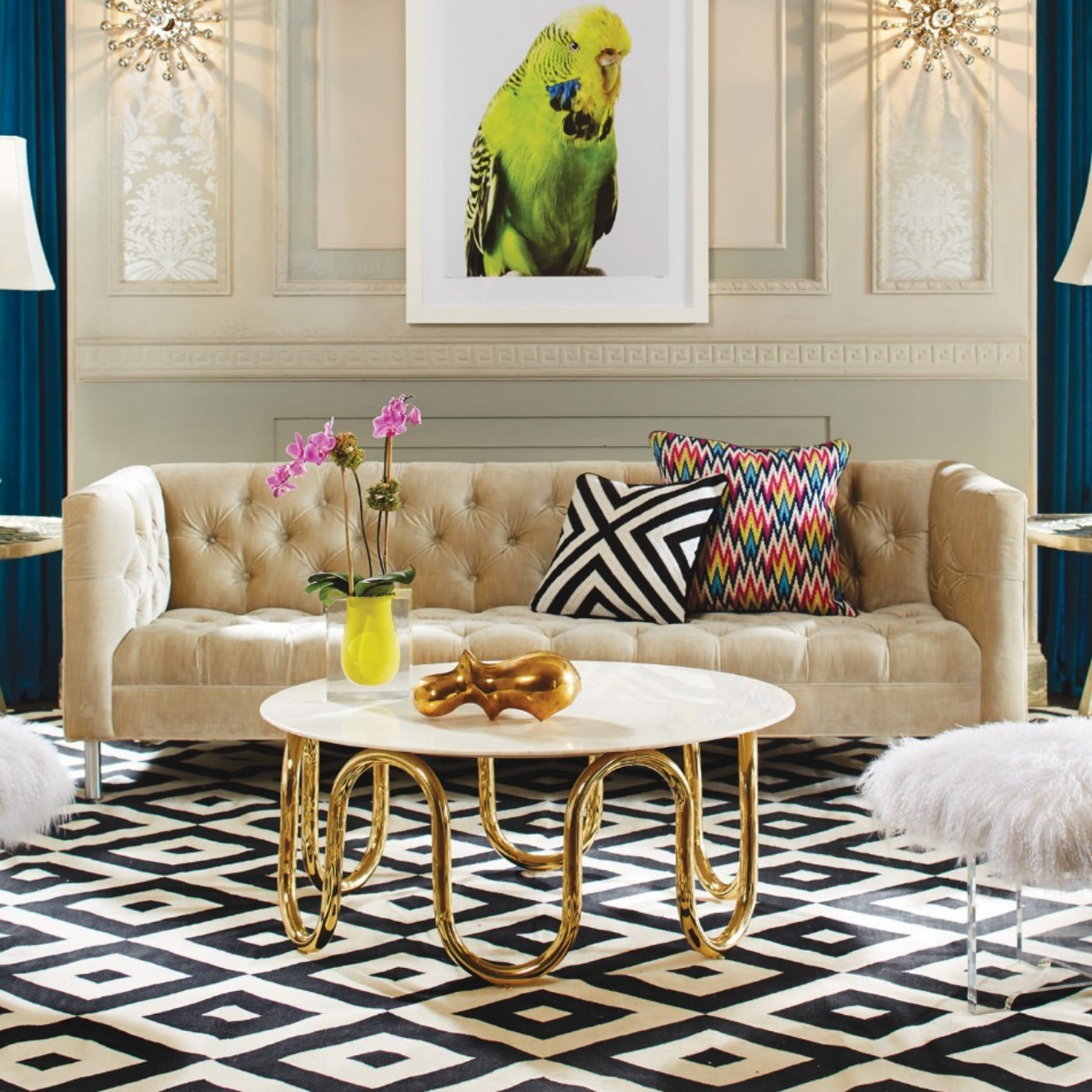Jonathan Adler 10 Coffee And Side Tables For This Summer By Jonathan Adler modern baxter sofa fall13 jonathan adler1