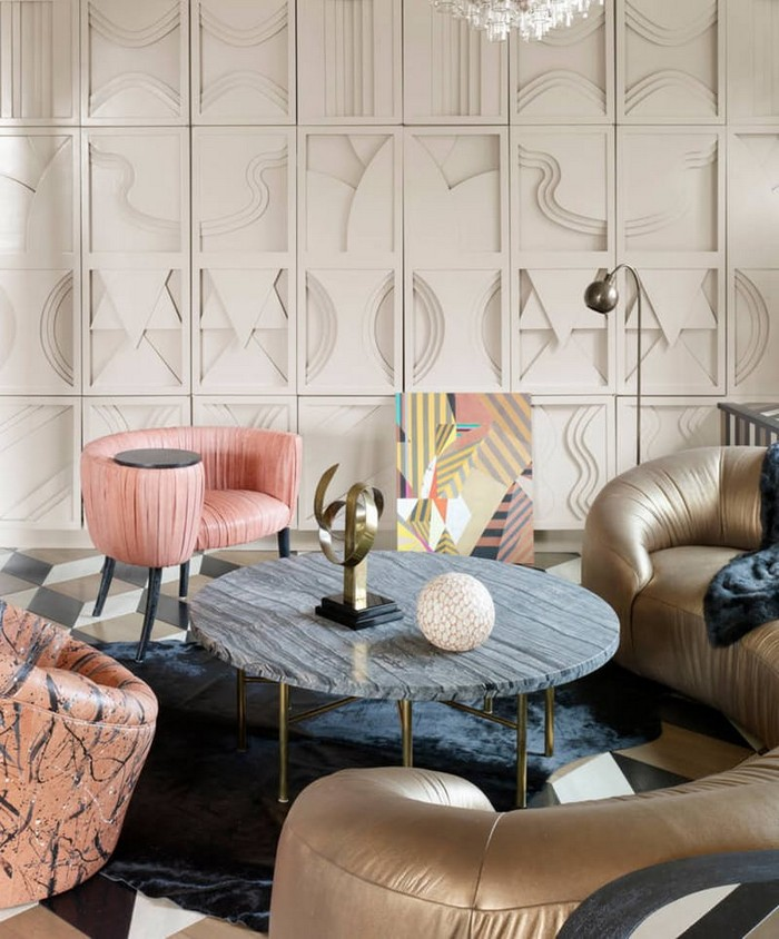 Sweet Candy Colors for Contemporary Interiors