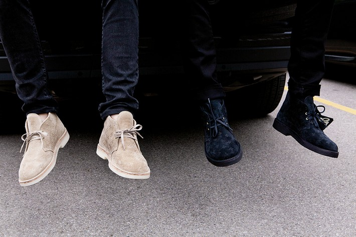 Drake's New Shoe Limited Edition Line limited edition Drake's New Shoe Limited Edition Line Drake OVO Clarks Desert