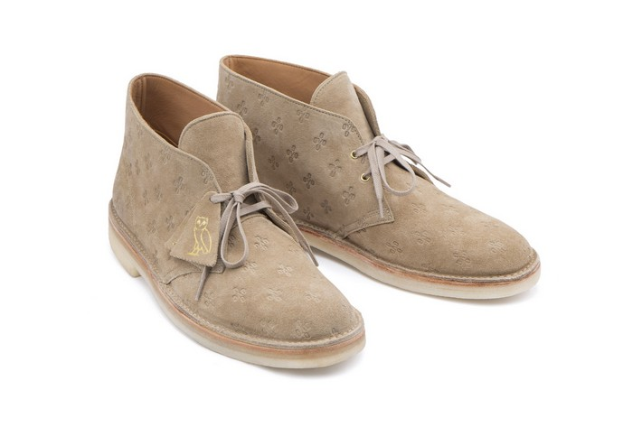 Drake's New Shoe Limited Edition Line limited edition Drake's New Shoe Limited Edition Line Drake OVO Clarks sand