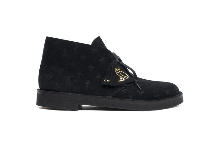 limited edition Drake's New Shoe Limited Edition Line Drake OVO Clarks shoe