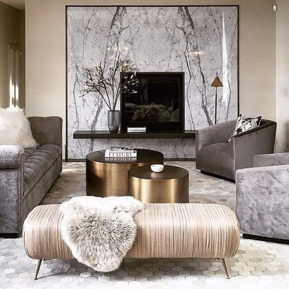 Modern Furniture Luxury Living Rooms Decorating Ideas: 30 Sharp Center Tables For Contemporary Living Room Design