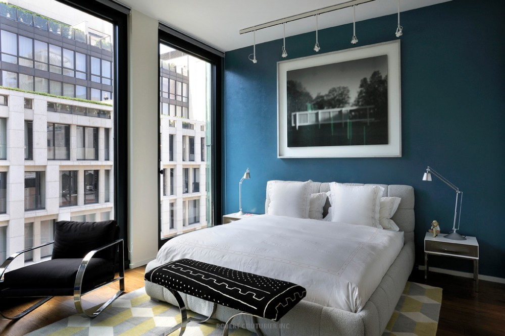 Luxury master bedrooms by famous interior designers - Robert couturier interior design ...