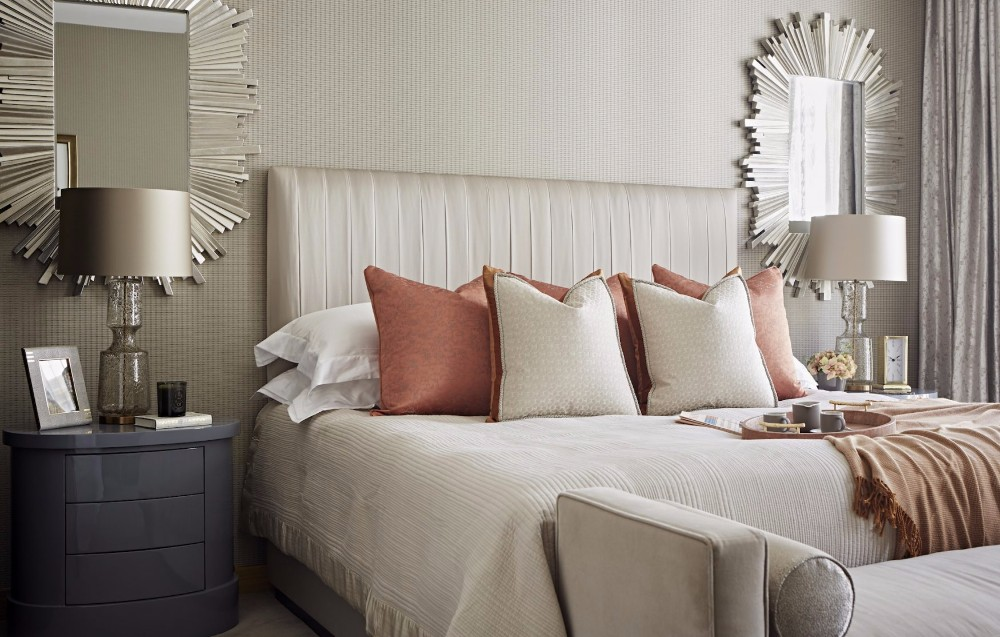 luxury master bedrooms by famous interior designers 16402 | taylor howes one kensington gardens luxury design british interior designers master design modern bedroom decor ideas