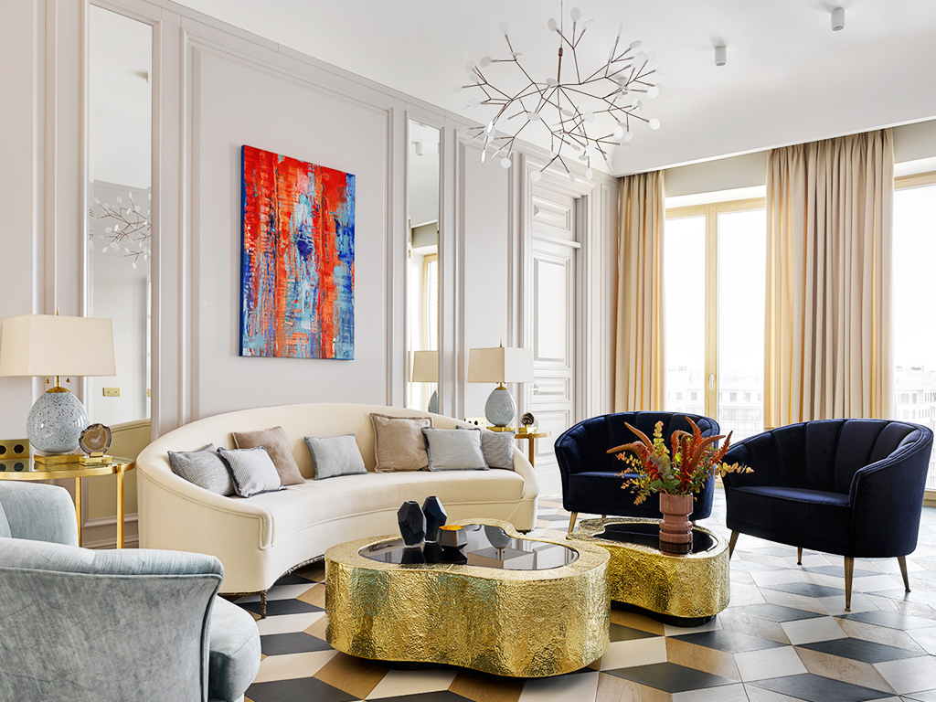 Living Room Modern Ideas: The Best Of Boca Do Lobo's Luxury Interior Architecture