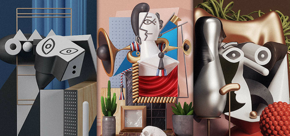 Gallery Omar Aqil Turns Picasso Paintings Into 3D Art Gallery ft 5