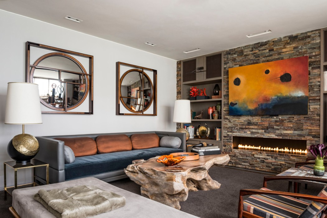 interior design The Sculptural Interior Design of Maddux Creative BAYSWATER MEWS HOUSE BY MADDUX CREATIVE COLORFUL DESIGN MODERN INTERIORS