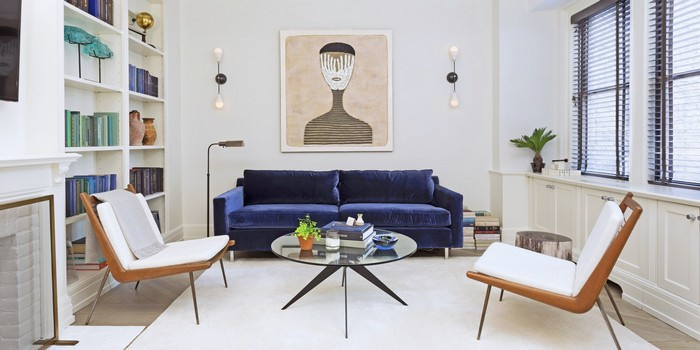 Blue Sofas That Will Refresh Your Living Room Decor