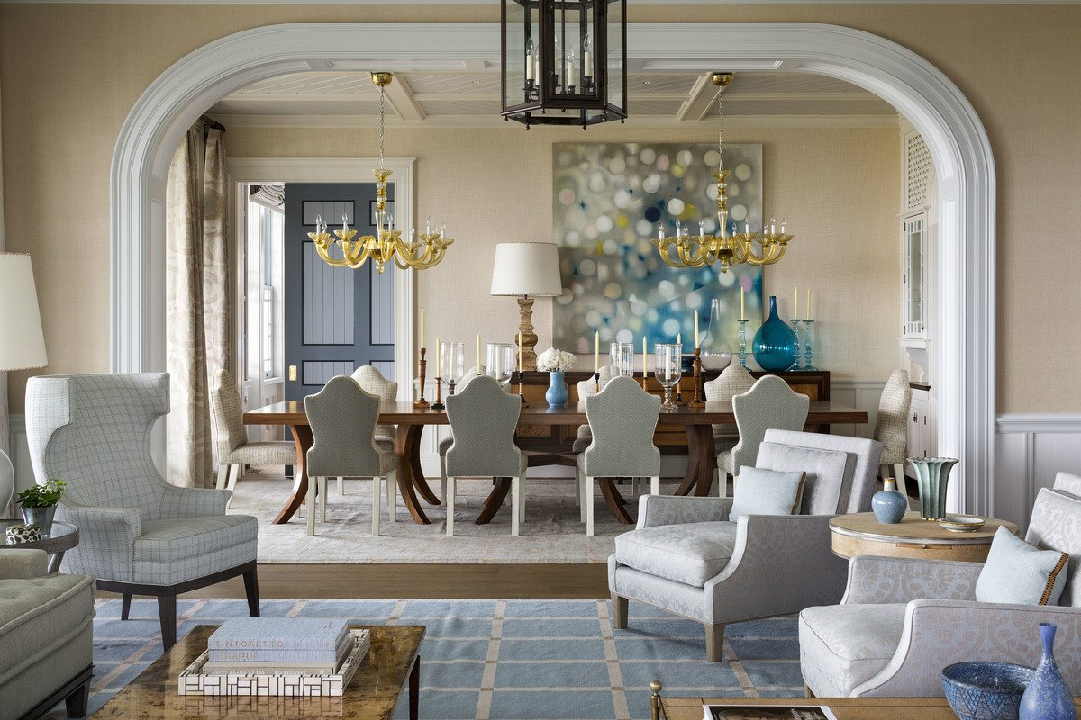 how 21 famous interior designers decorate a dining room