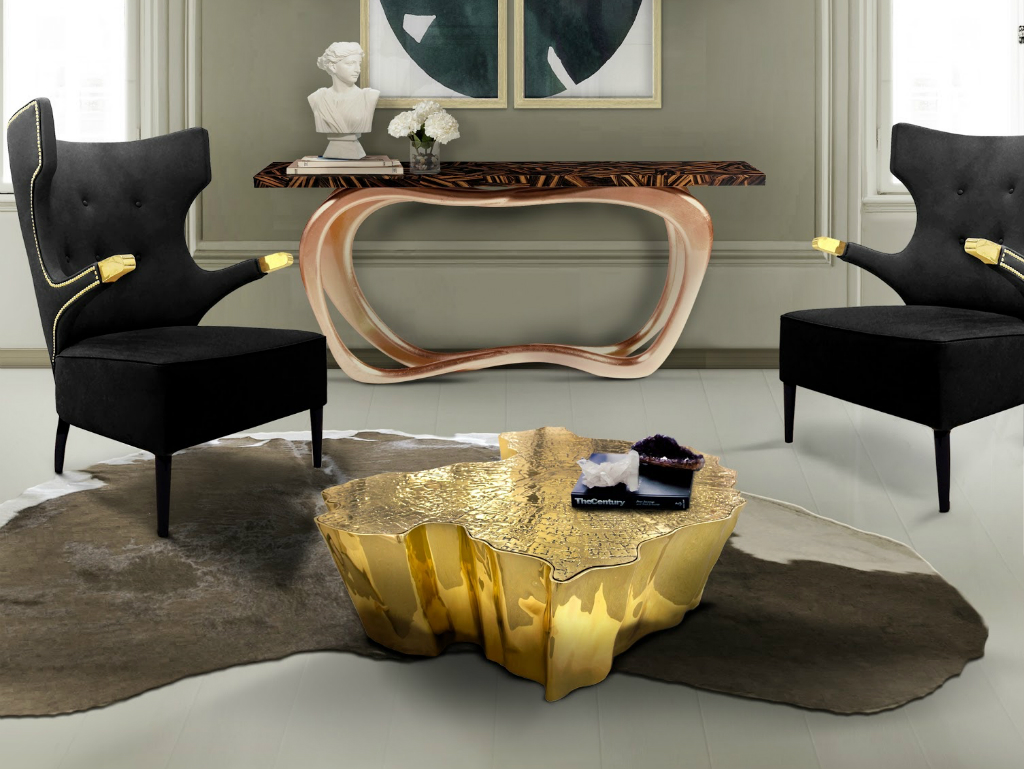 console table The Best Contemporary Console Tables for Your Living Room Infinity console