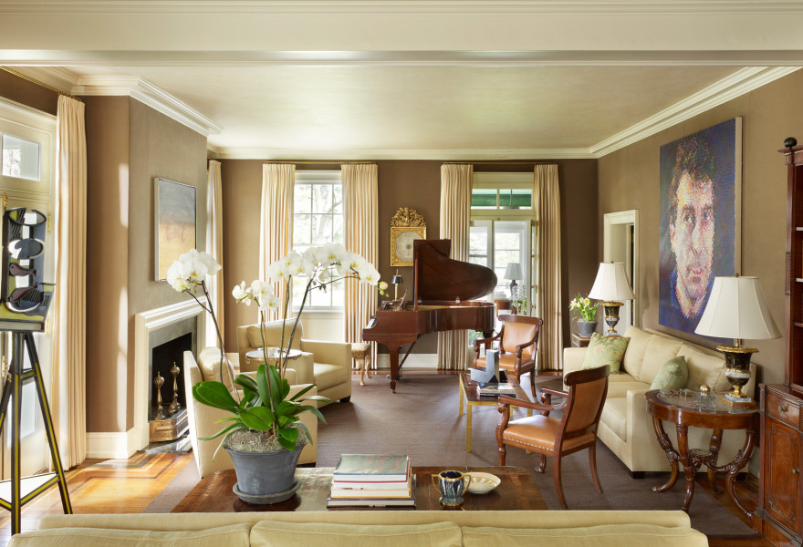 classic interior design Classic Interior Design Projects of Thomas Jayne Main Line House by jayne design studio 1