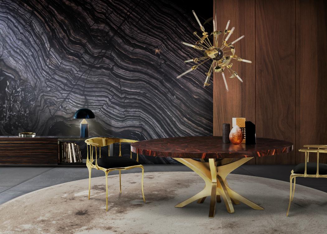 lighting design Golden Lighting Design Ideas for Modern Luxury Homes Patch Dining Table Boca Do Lobo 1