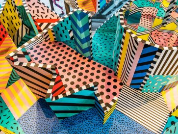 Playful Art Installation by Graphic Artist Camille Walala