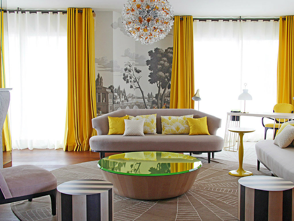 luxurious penthouse Alfred Hitchcock's movie inspired this Luxurious Penthouse in Milan cover 6