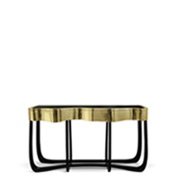 console table The Best Contemporary Console Tables for Your Living Room sinuous boca do lobo thumbnail