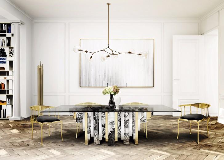 60 Modern Dining Room Design Ideas, Dining Room Ideas 2017