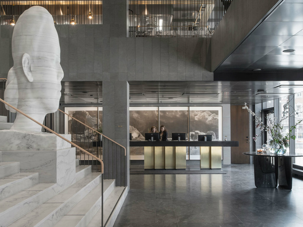 luxury hotel At Six, Artful and Luxury Hotel by Universal Design Studio in Stockholm cover2 5