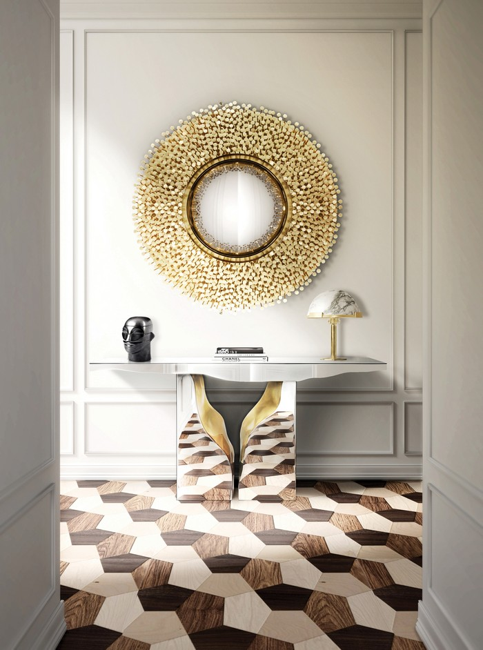 modern entryway Modern Entryway Ideas to Make a Killer First Impression robin mirror hr