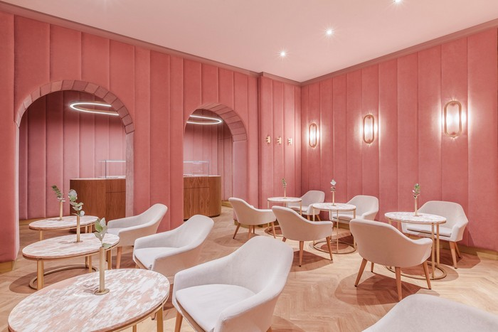 pink Pink Delight: Nanan Patisserie in Wroclaw Nanan French patisserie 1
