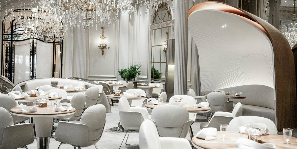 luxury restaurants Best Luxury Restaurants To Eat In Paris alain ducasse au plaza athenee restaurant room 1