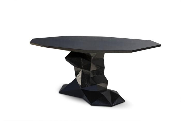 dining table designs Presenting Boca do Lobo's Dining Table Designs bonsai black boca do lobo 02