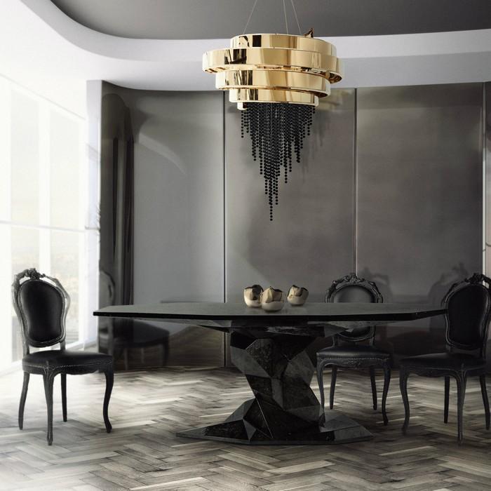 dining table designs Presenting Boca do Lobo's Dining Table Designs bonsai dining table hr
