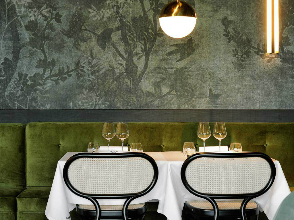 luxury restaurant La Forêt Noire the Luxury Restaurant designed by Claude Cartier Studio cover3 1