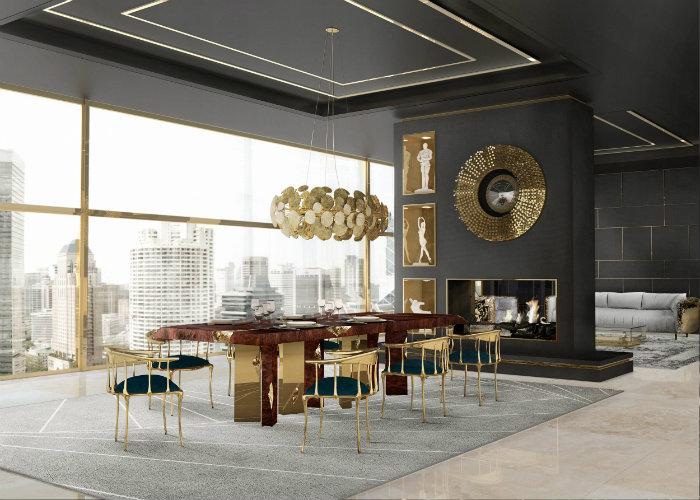 dining table designs Presenting Boca do Lobo's Dining Table Designs dining room ambience 01