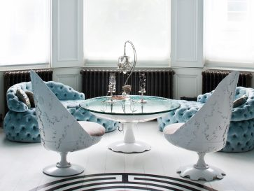 Blue Wonderland: London House by Designer Danielle Moudaber