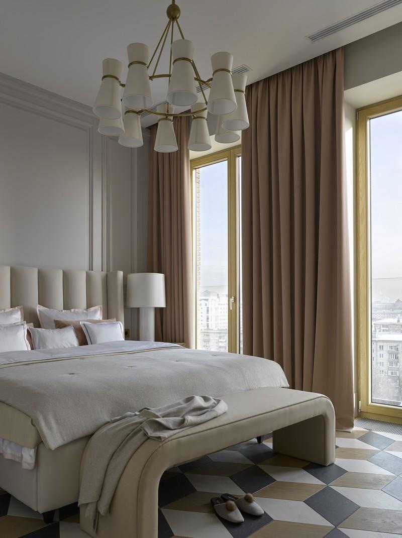 contemporary Russian Contemporary Apartment with Boca do Lobo by Ekaterina Lashmanova ekaterina lashmanova 10