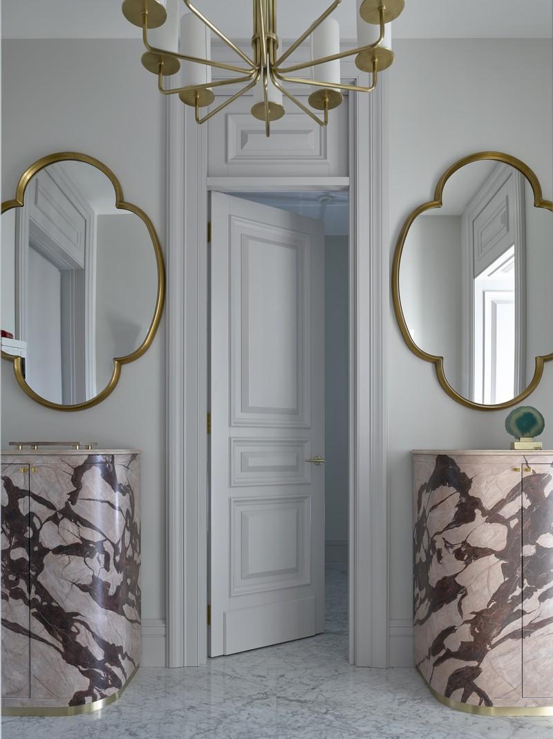 contemporary Russian Contemporary Apartment with Boca do Lobo by Ekaterina Lashmanova ekaterina lashmanova 7