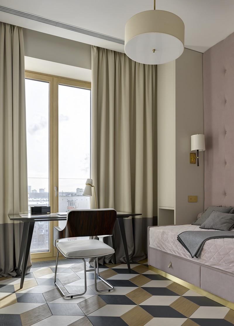 contemporary Russian Contemporary Apartment with Boca do Lobo by Ekaterina Lashmanova ekaterina lashmanova 8
