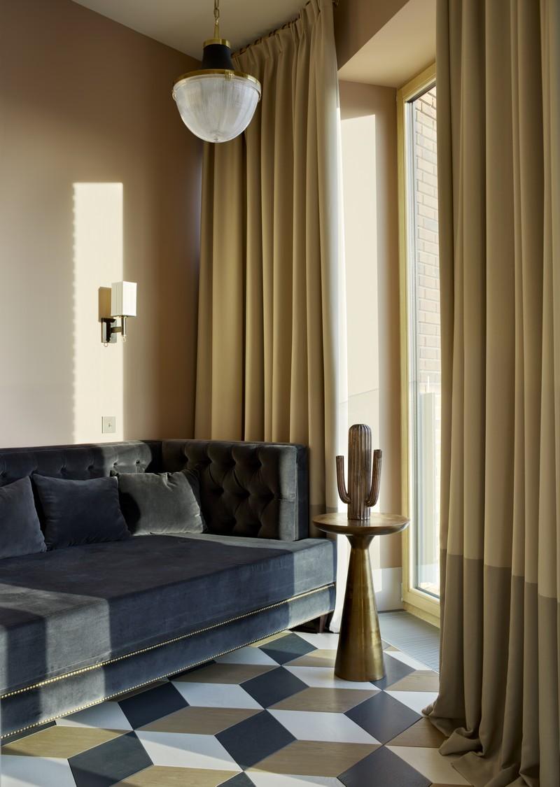 Contemporary Russian Contemporary Apartment with Boca do Lobo by Ekaterina Lashmanova ekaterina lashmanova 9