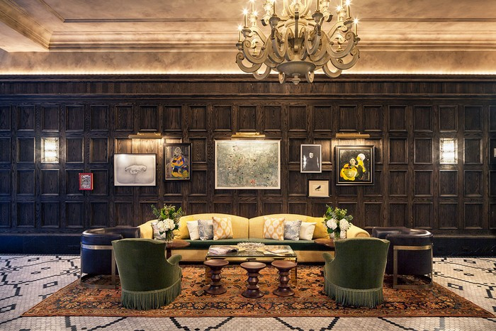 Hotel Design New York Hotel Design by Gerner Kronick and Valcarcel Architects f12 the beekman a thompson hotel new york yatzer